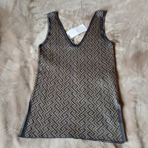 ZARA knit sleeveless top